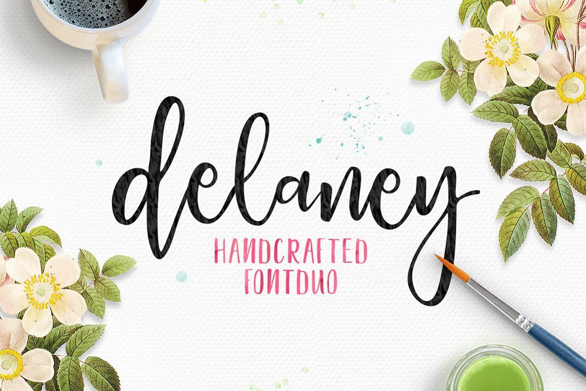 Delaney Script example image