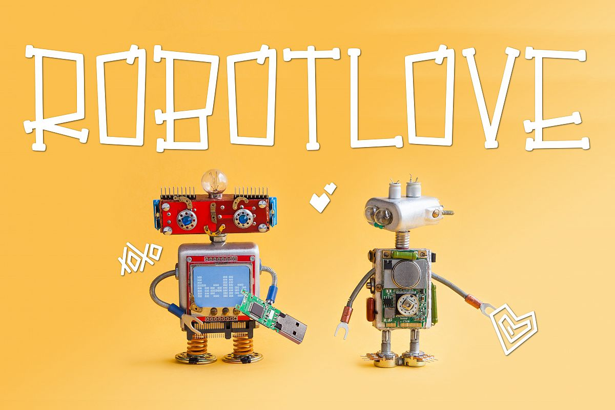 Robot Love example image