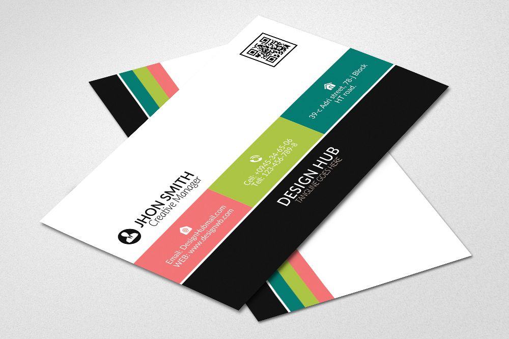 Cool graphic design business cards awesome graphic library colorfull business cards by designhub719 design bundles rh designbundles net graphic design business cards psd graphic design business cards inspirations reheart Images