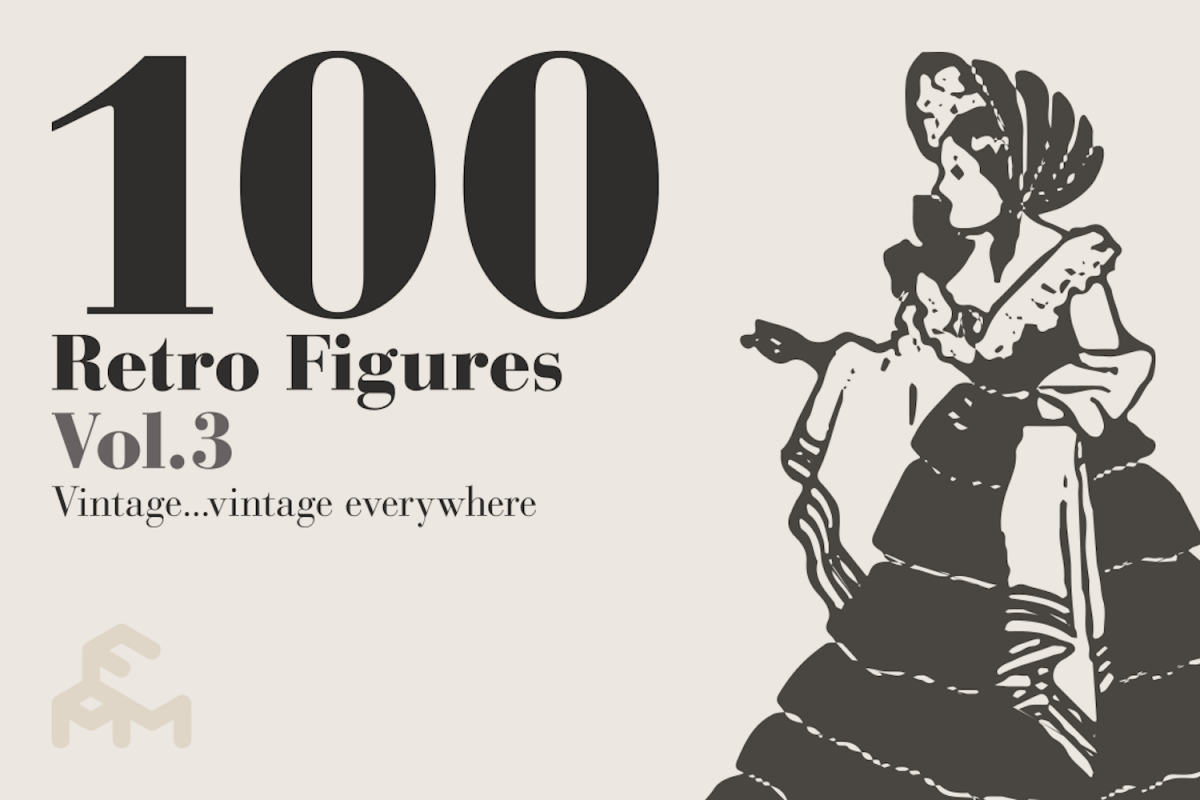 100 Retro Figures - Vol.3 example image