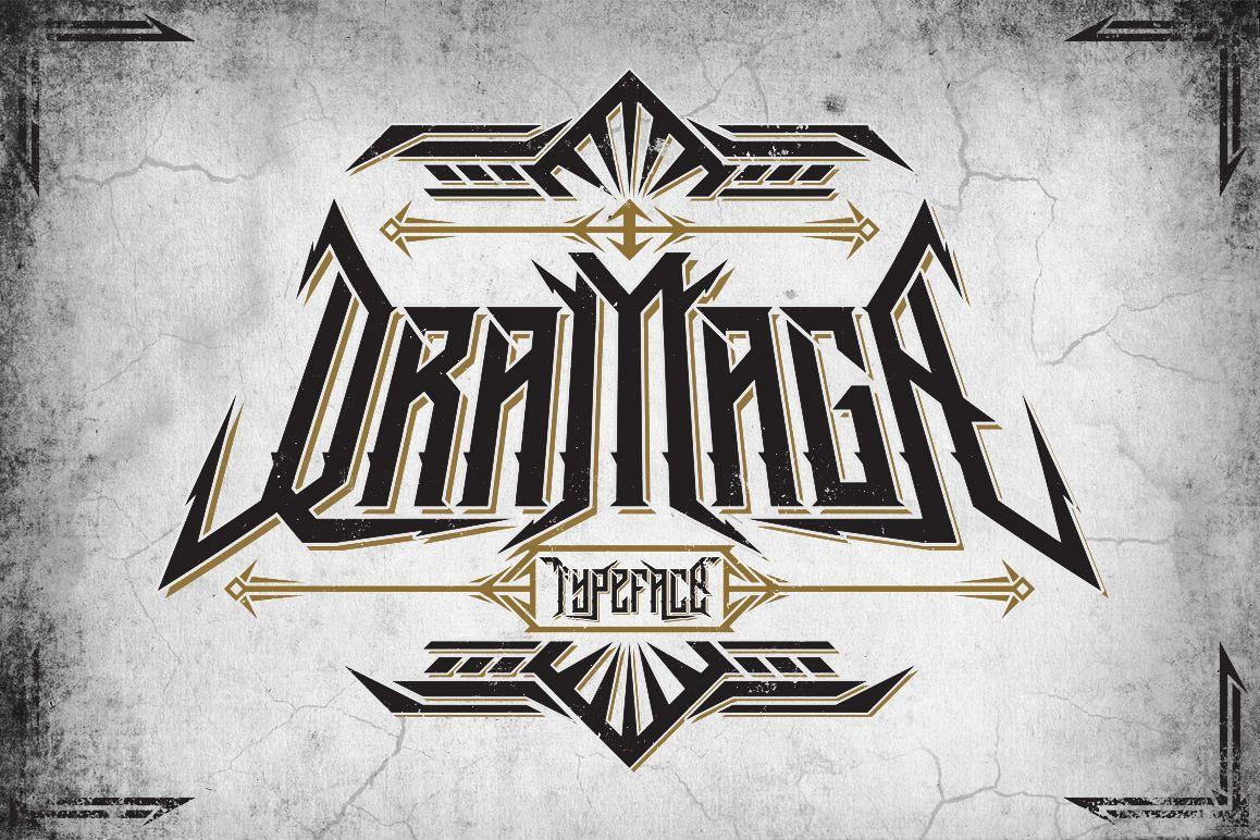 Dramaga Typeface example image