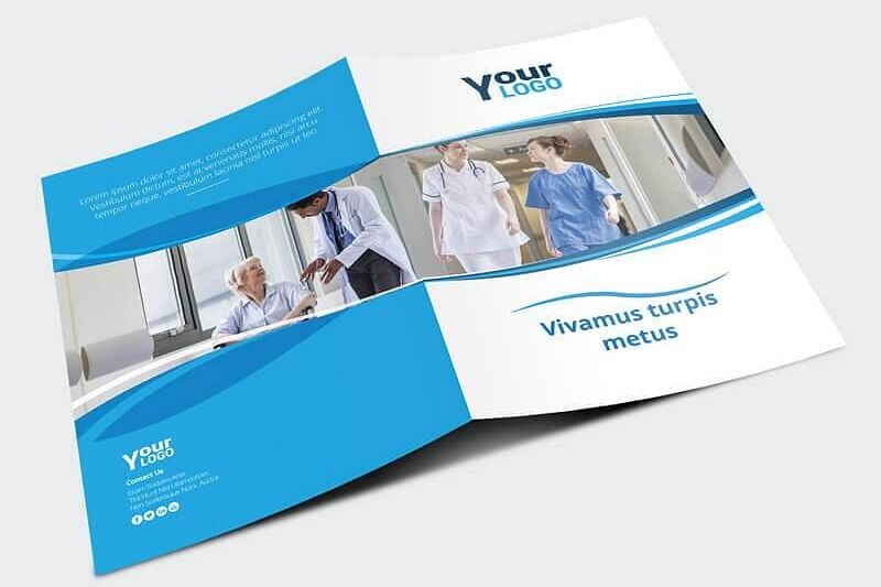 Healthcare Brochure Template Example Image