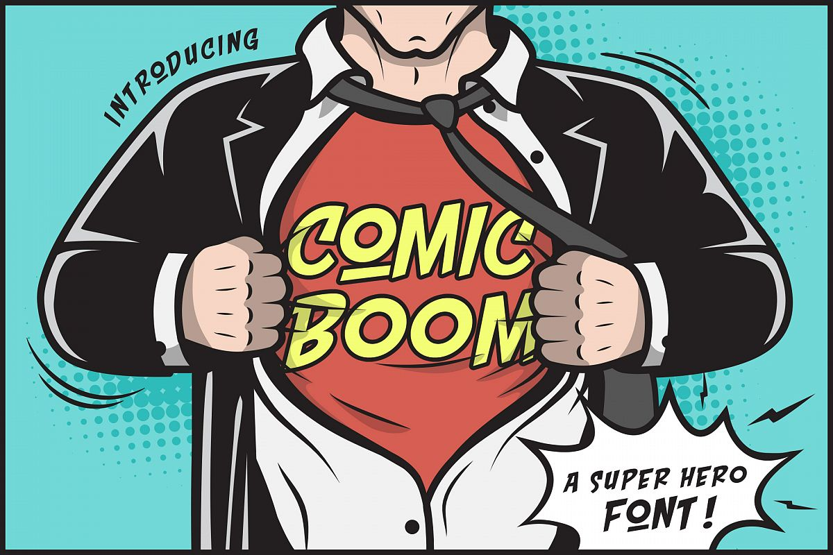 Comic Boom example image