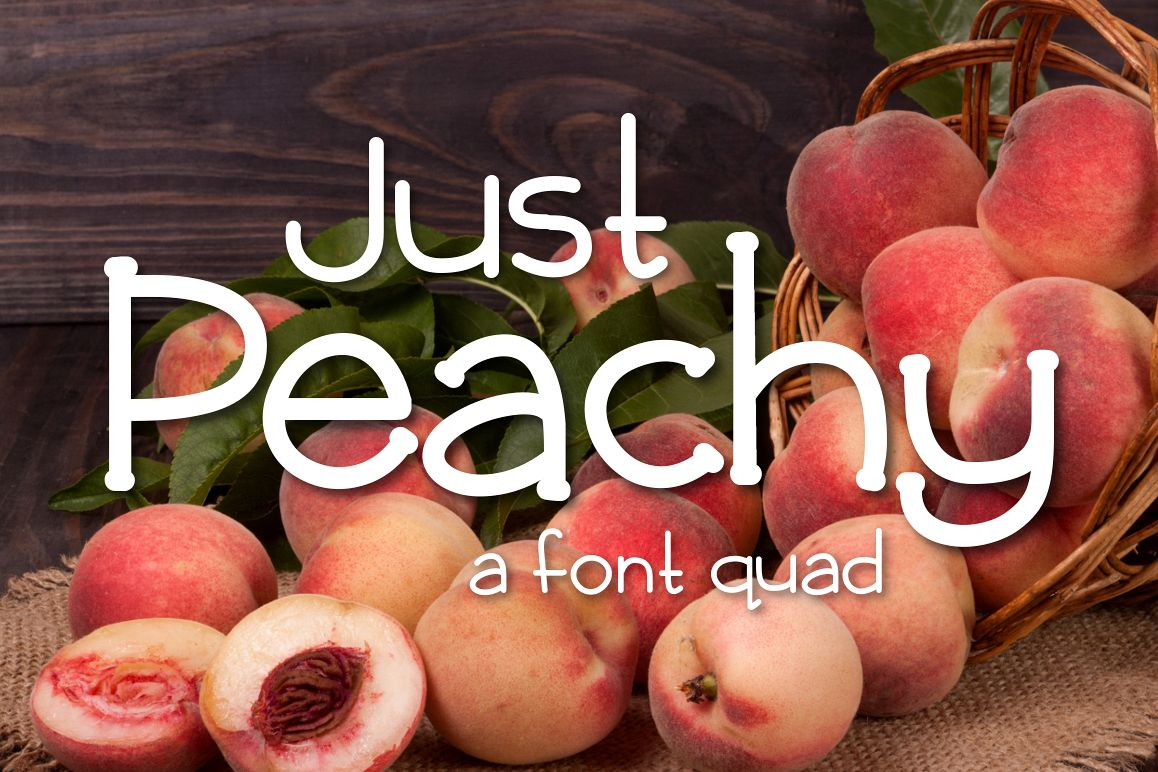 Just Peachy example image