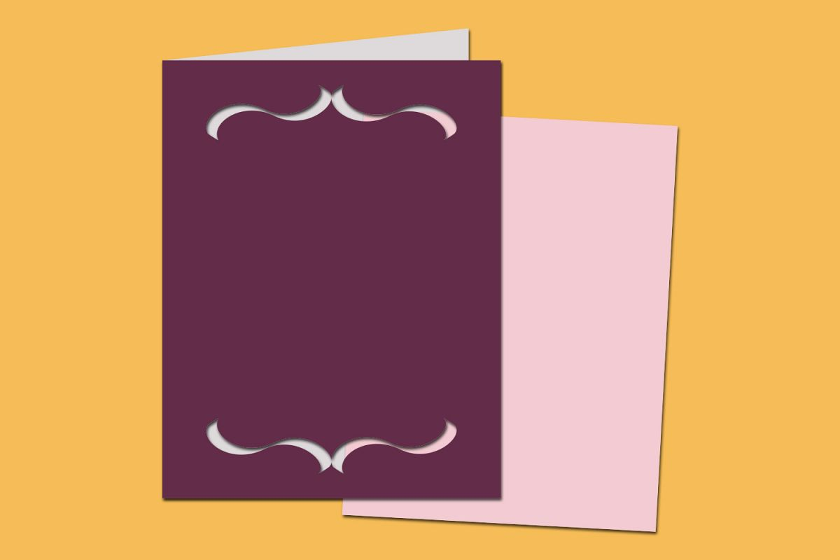 rectangle bracket frame. SVG Bracket Frame Card Example Image Rectangle Y