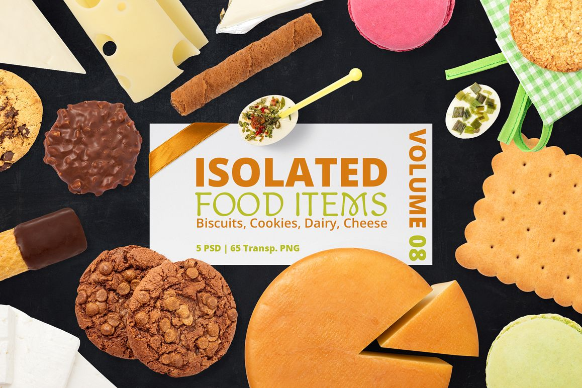 Isolated Food Items Vol.8 example image