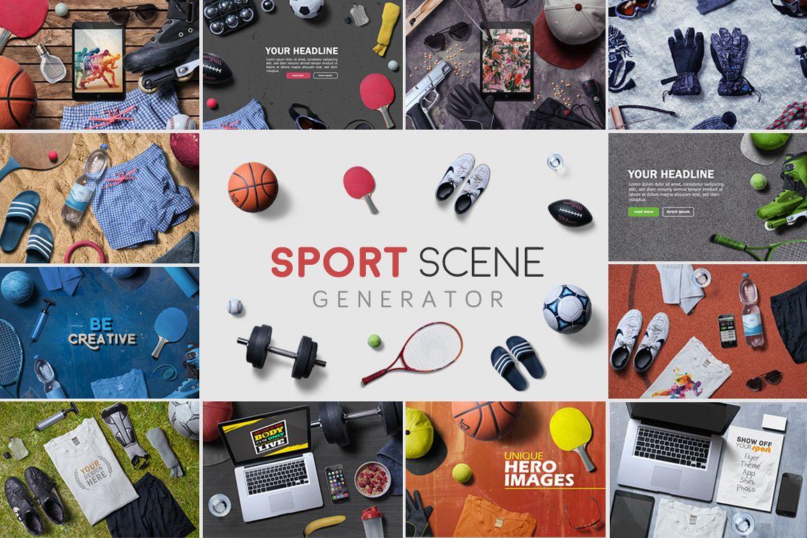Sport Scene Generator example image
