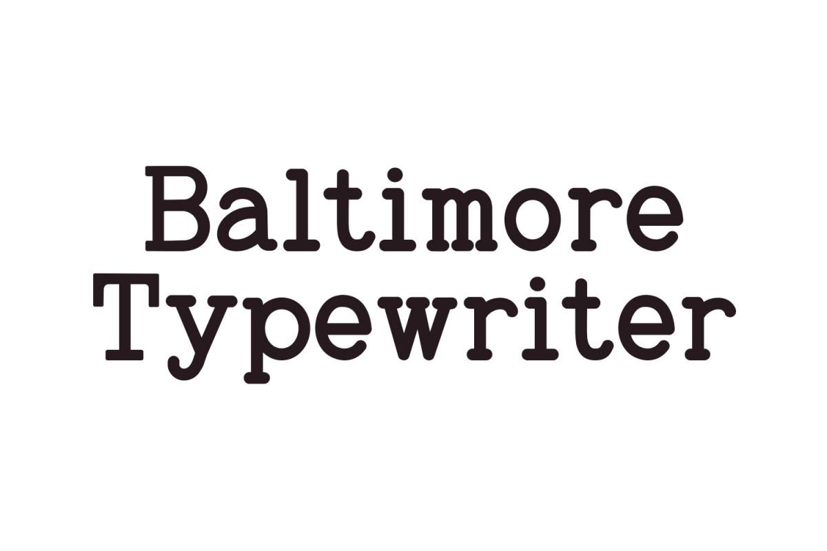 Baltimore Typewriter - SUPER PACK PROMOTION !  example image