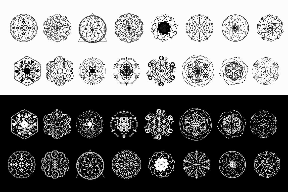 16 Sacred symbols  example image 5