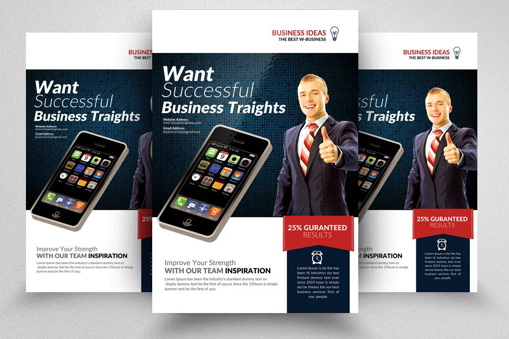 Computer It Services Flyer Templates Design Bundles