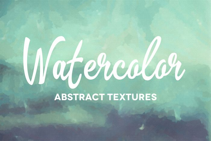 50 Abstract Watercolor Textures example image