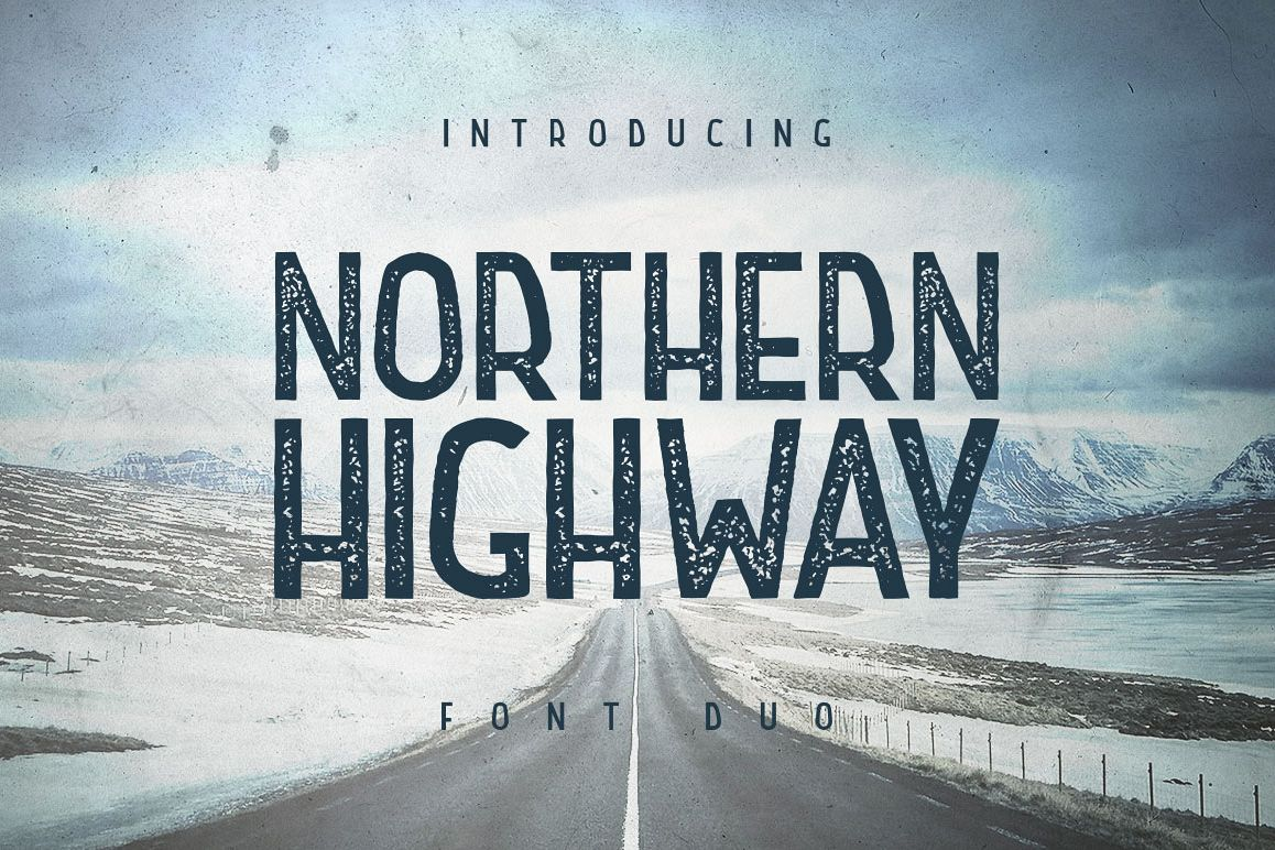 Northern Highway - Font Duo example image