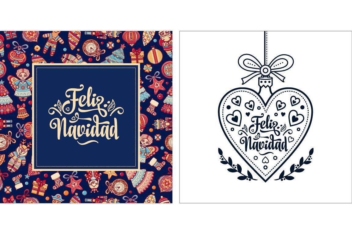 Feliz Navidad Warm Wishes For Happy Ho Design Bundles