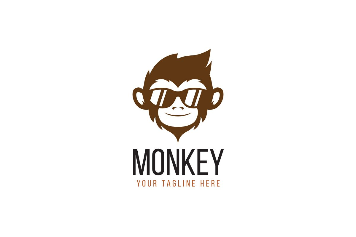 Monkey Logo By Deponie  Design Bundles. Atmosphere Signs Of Stroke. Ramayana Murals. Team Pokemon Banners. Pretty Word Signs Of Stroke