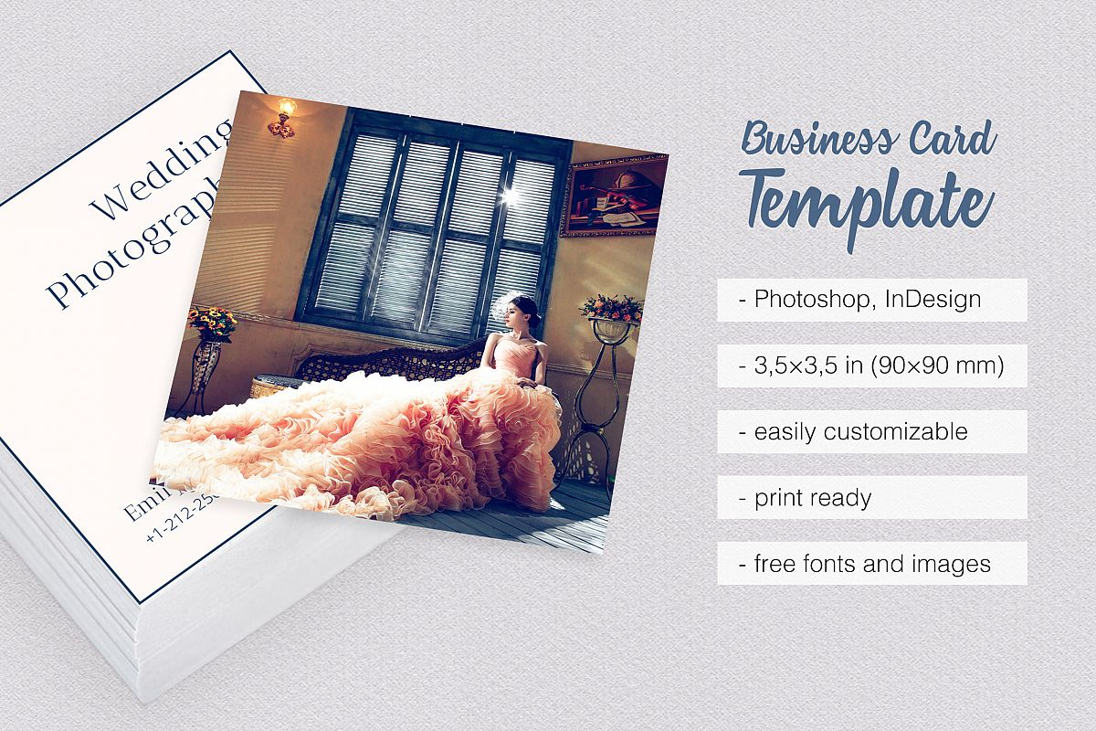 Wedding photography business card by mo design bundles wedding photography business card example image reheart