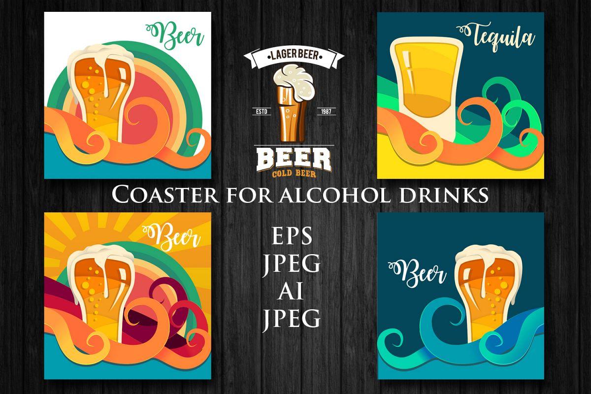 Alcohol Background example image