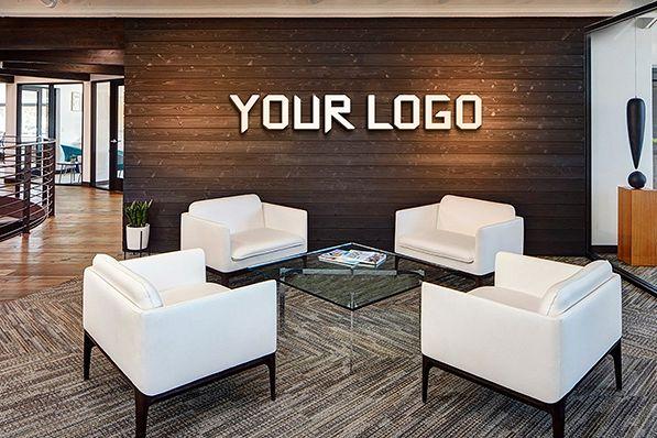 Office Branding Logo Mockups vol 01 by | Design Bundles