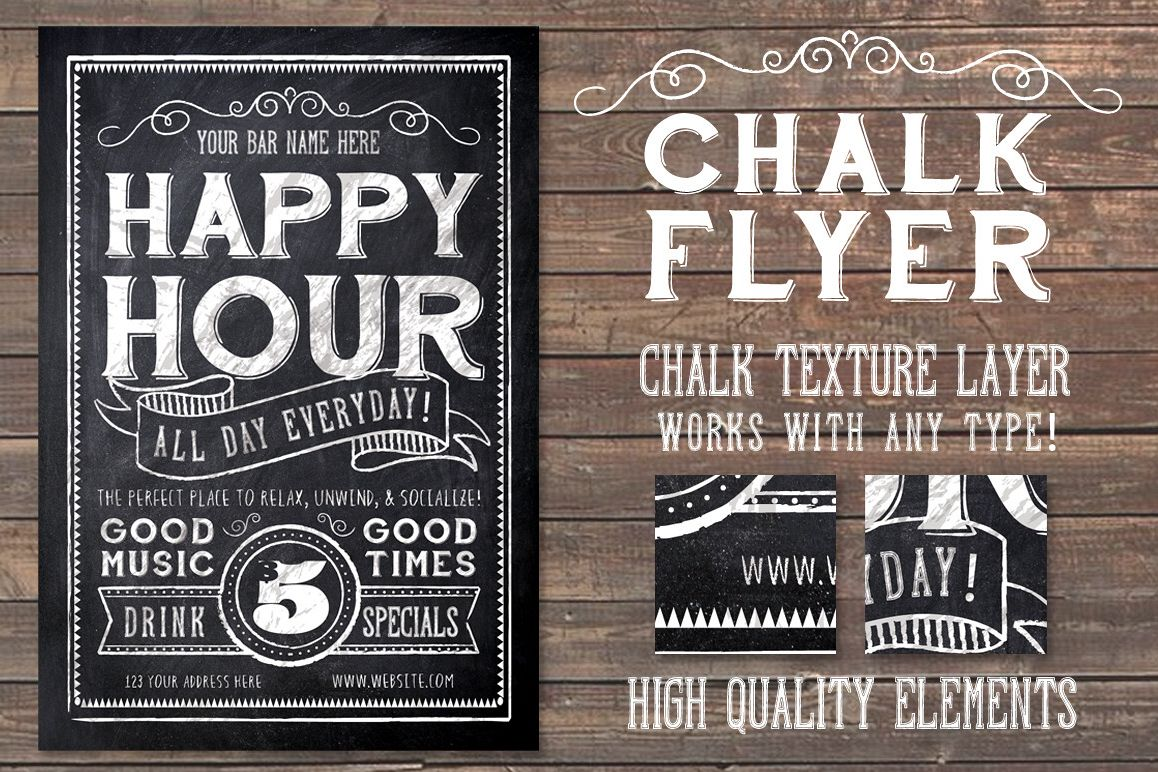 Chalk Flyer example image
