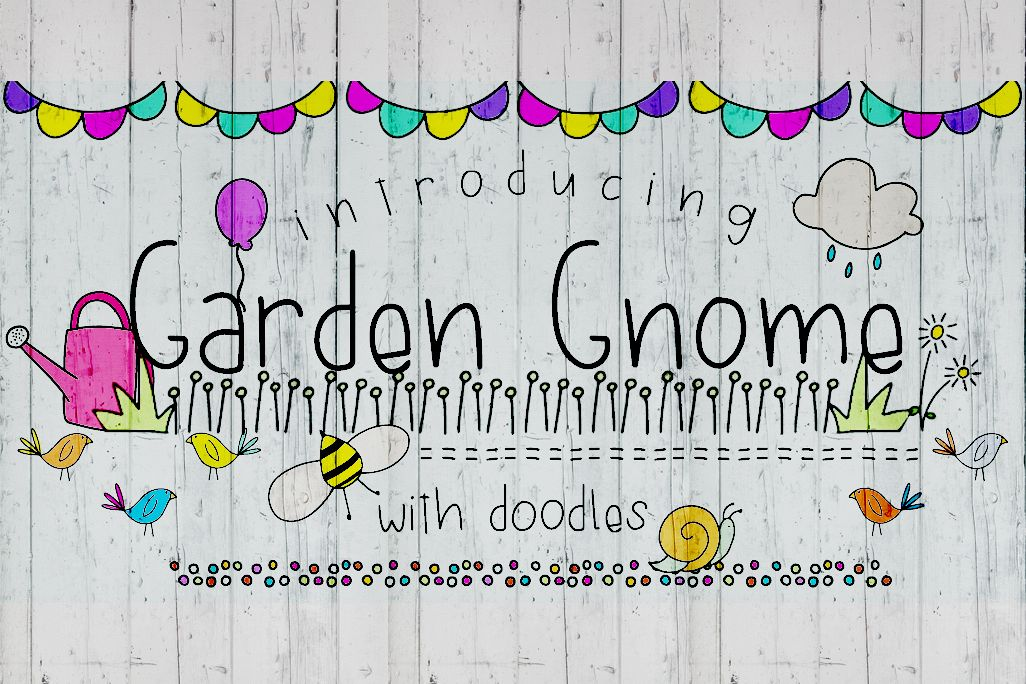 Garden Gnome Font Duo example image