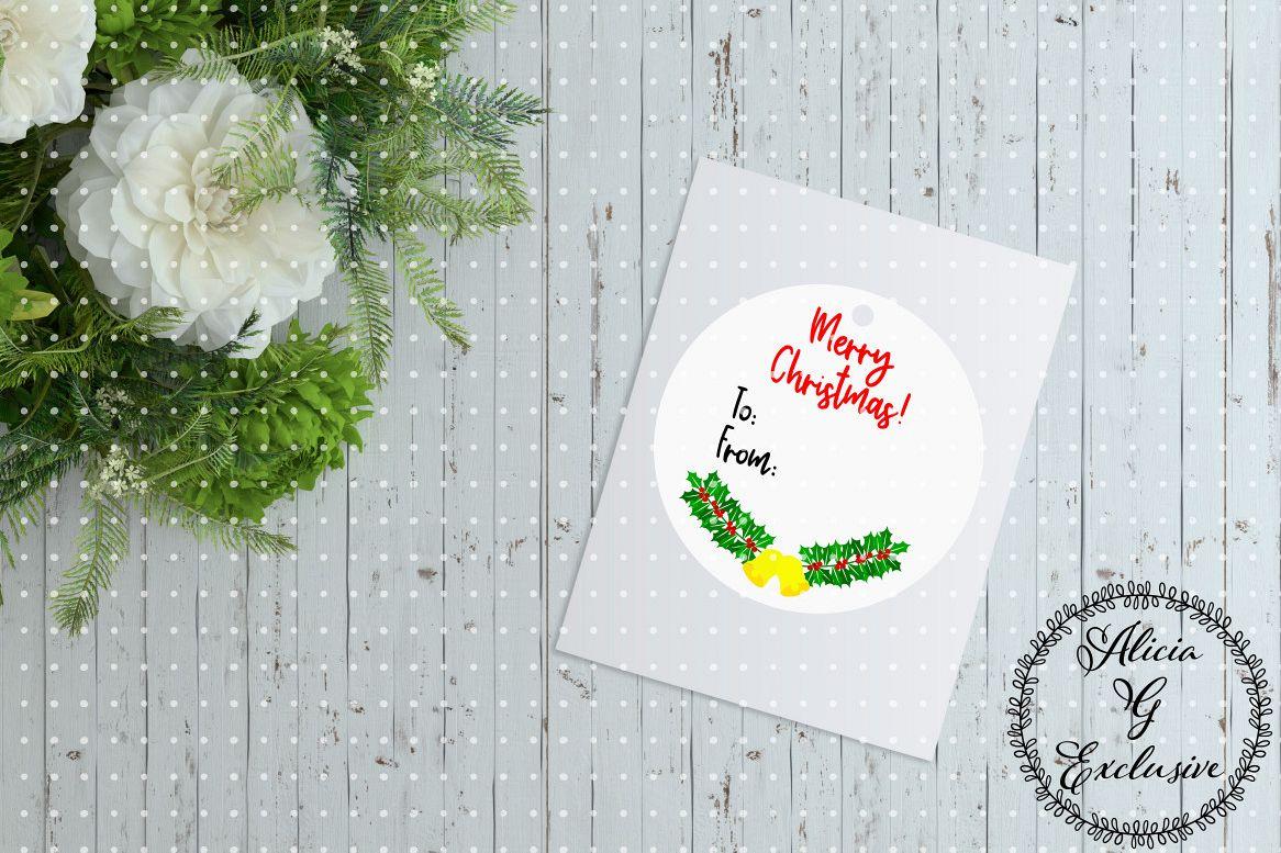 Christmas Gift Tag example image