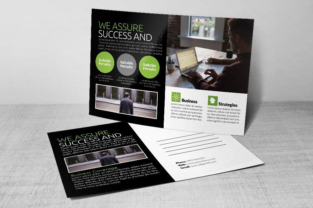 Business Postcards Templates by Designh | Design Bundles