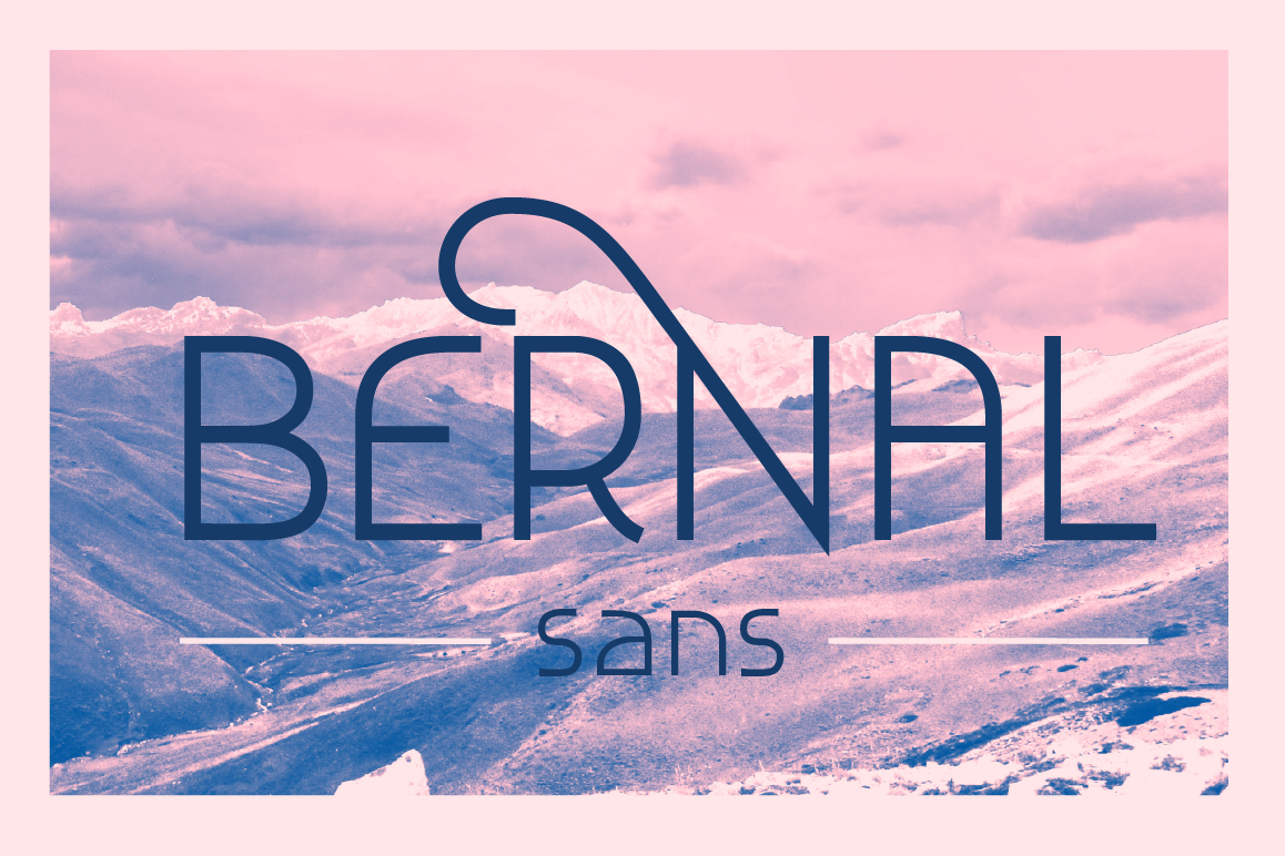 Bernal Sans example image