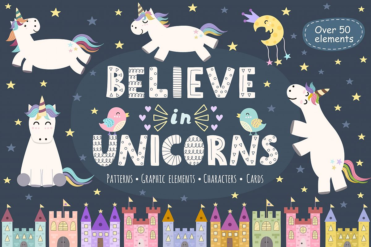 Believe in Unicorns Collection example image