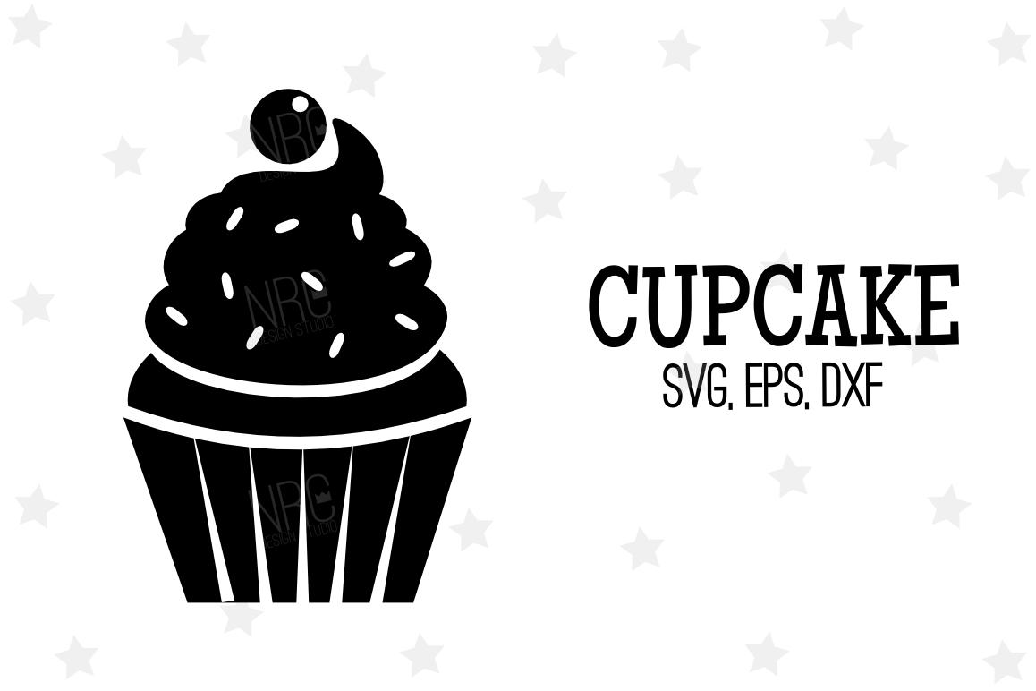 Cupcake Svg File V3 By Nrcdesignstudio Design Bundles