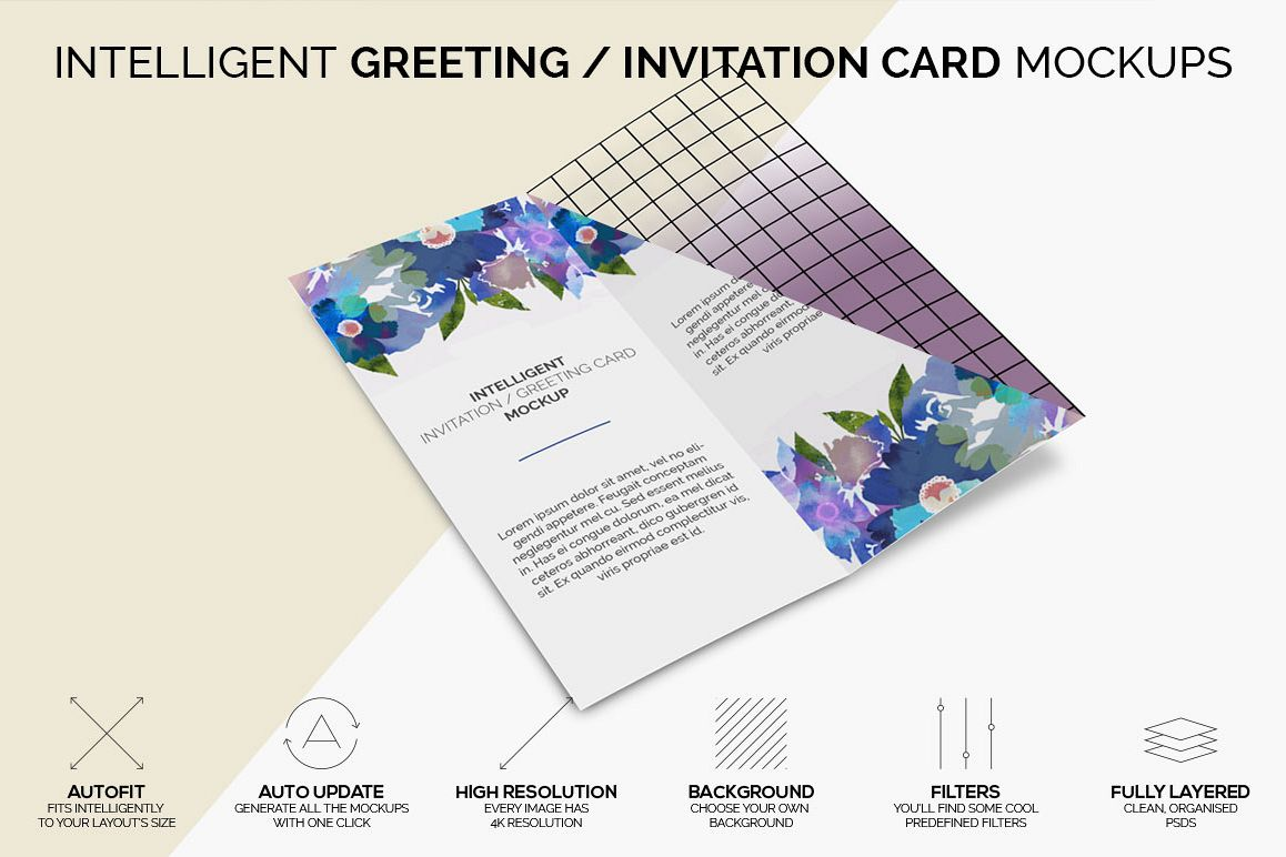 Intelligent invitation greeting card design bundles intelligent invitation greeting card mockup example image stopboris Image collections