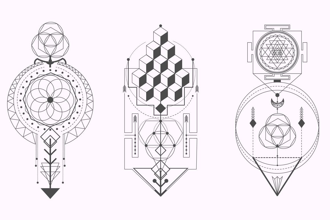 Sacred Geometry. Magic totem vol.2 example image 6
