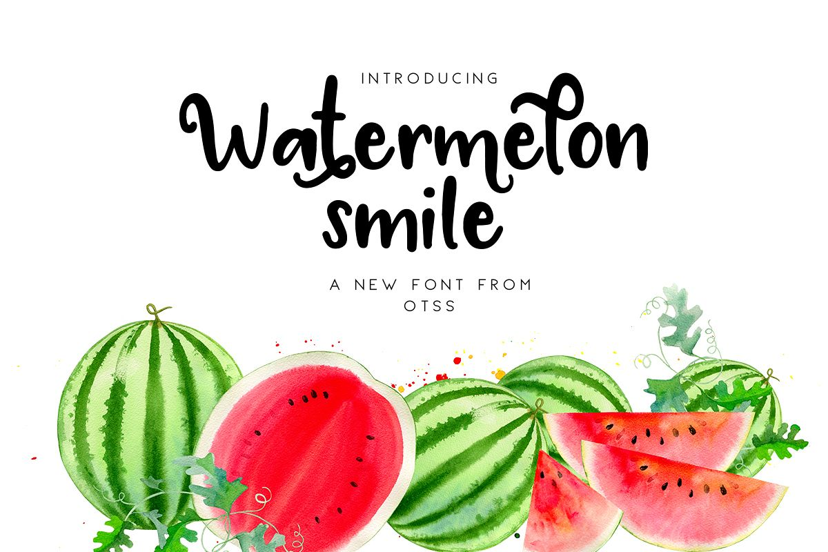 Watermelon Smile example image