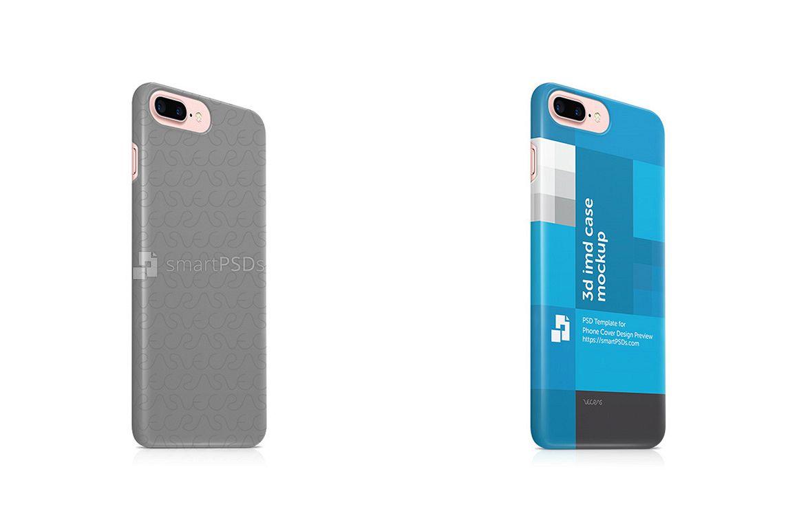 apple iphone 7 plus 3d imd mobile case design bundles
