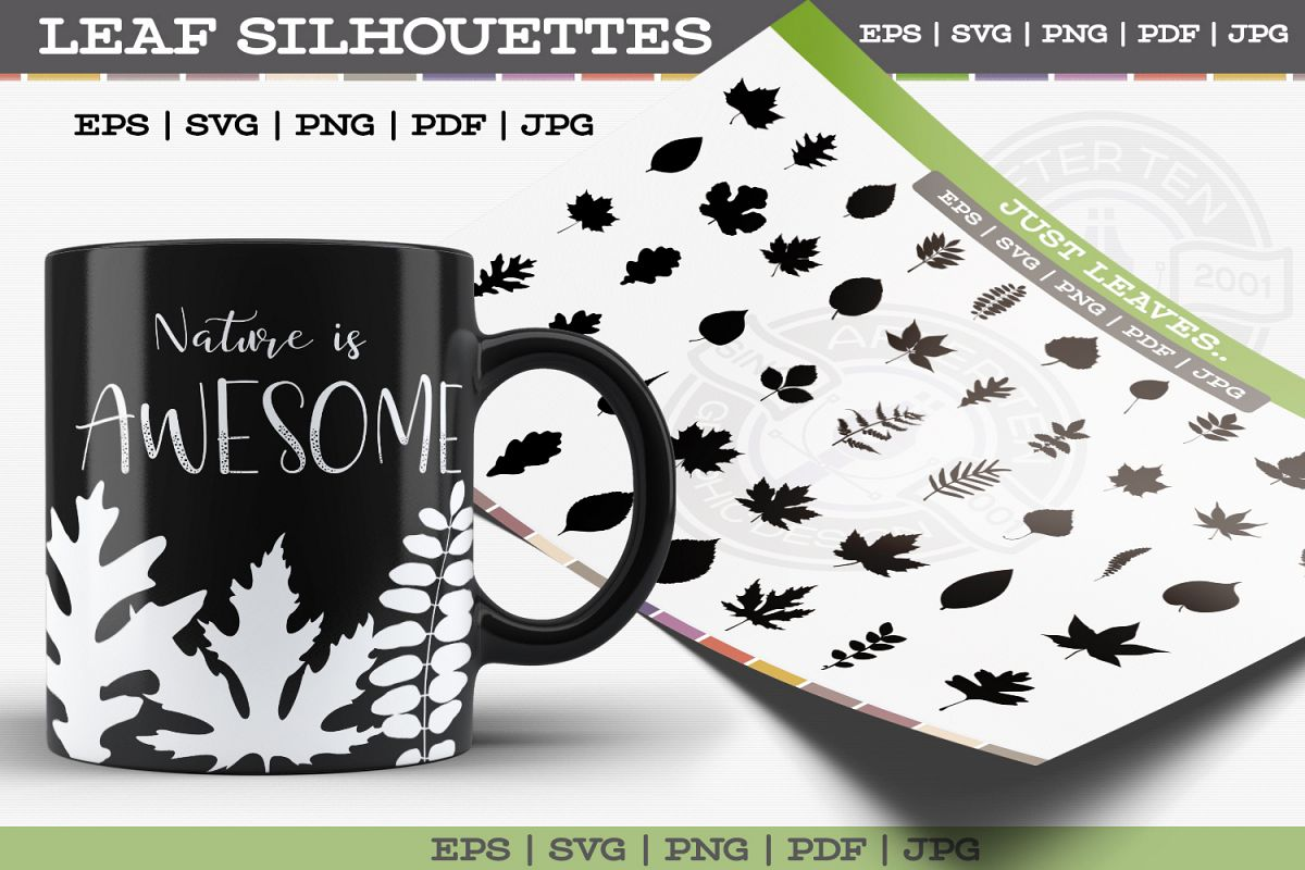 Leaf Silhouettes example image