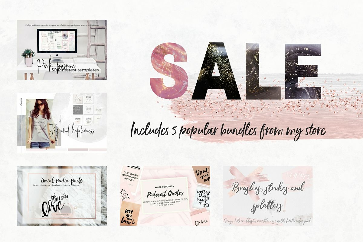 Sale! 5 store bundles example image