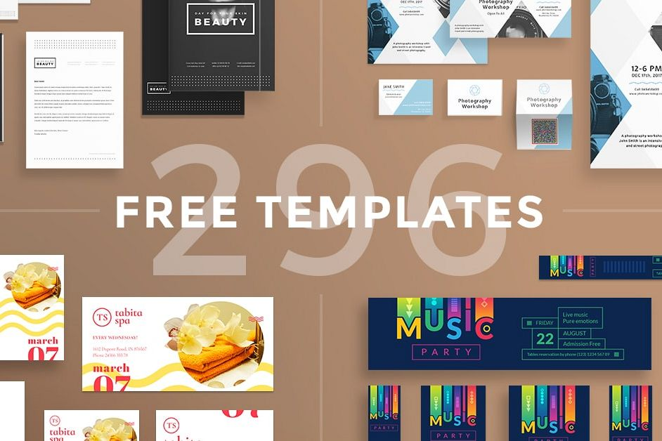 Free Bundle Flyers, Posters, Ad Banners | Design Bundles