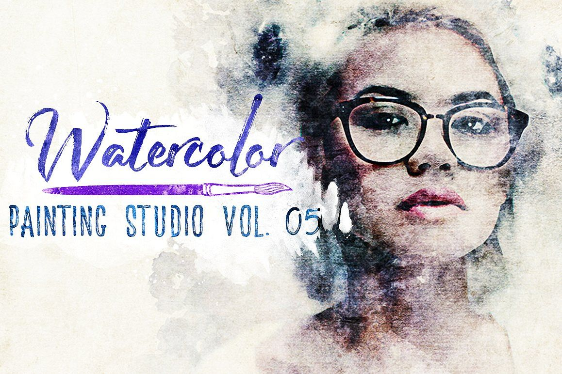 Watercolor Painting Studio Vol. 05 example image