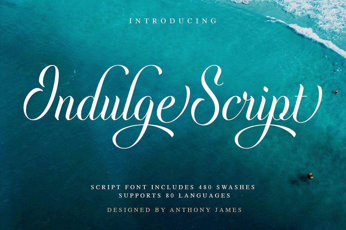 Indulge Script example image