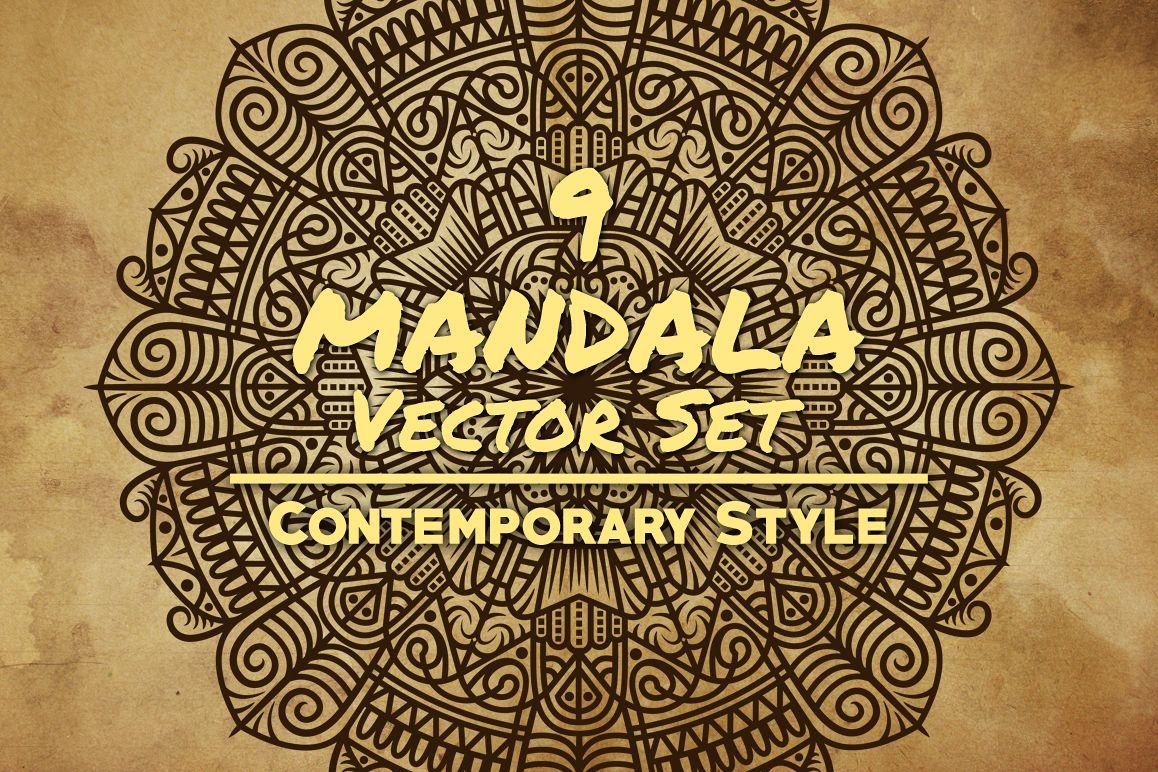 Mandala Art (Contemporary Style) example image