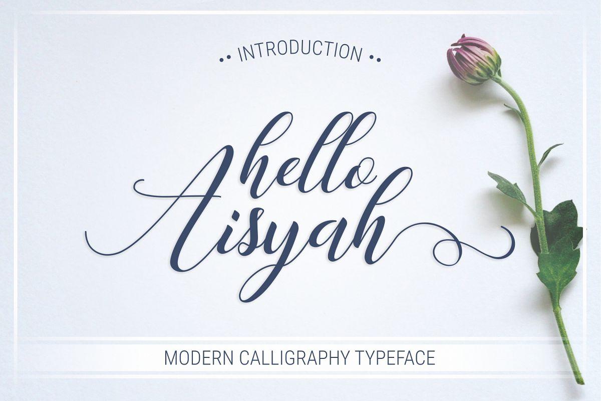 Hello Aisyah example image