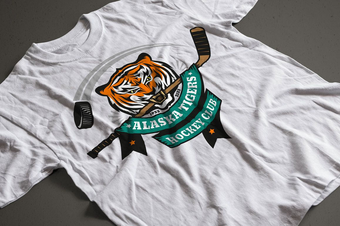Tiger Mascot Template example image 3