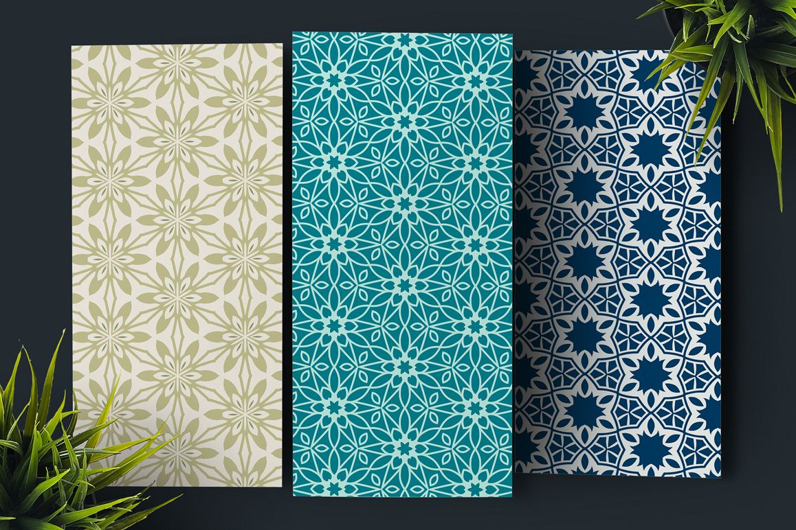 50 Floral Seamless Patterns 80% OFF example image 2