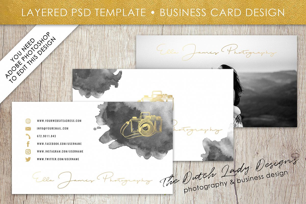 Business card template for adobe photos design bundles business card template for adobe photoshop layered psd template design 9 example image colourmoves