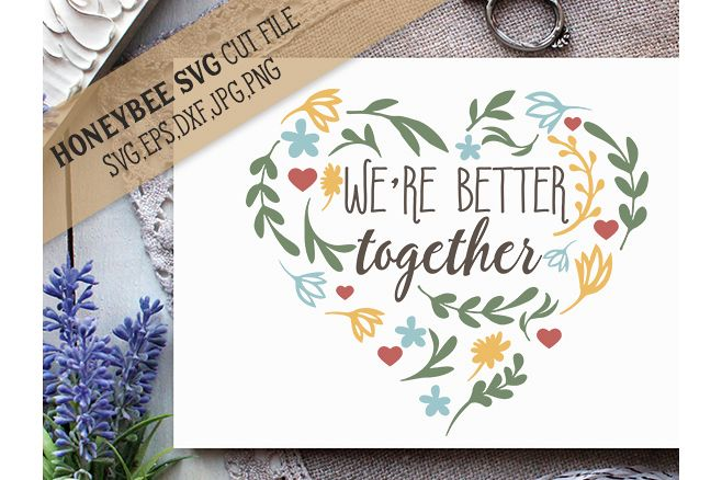 We're Better Together example image