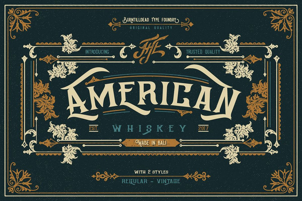 American Whiskey example image