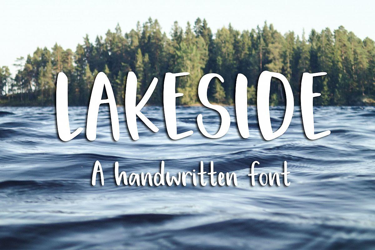 Lakeside Font example image