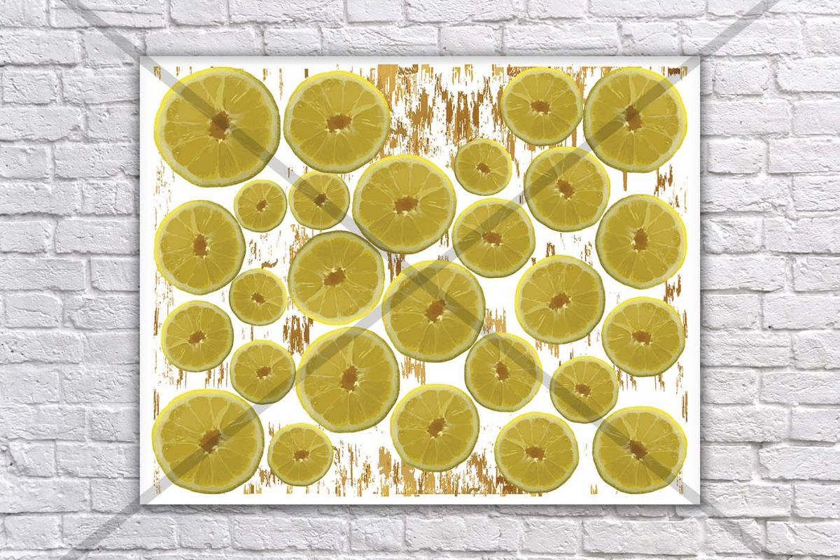 Lemon Print, Lime Kitchen Decor, Kitche | Design Bundles