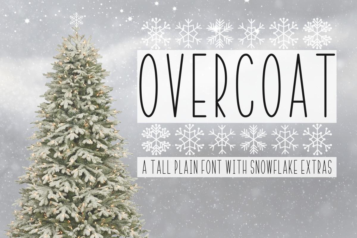 Overcoat & Snowflake Extras  example image