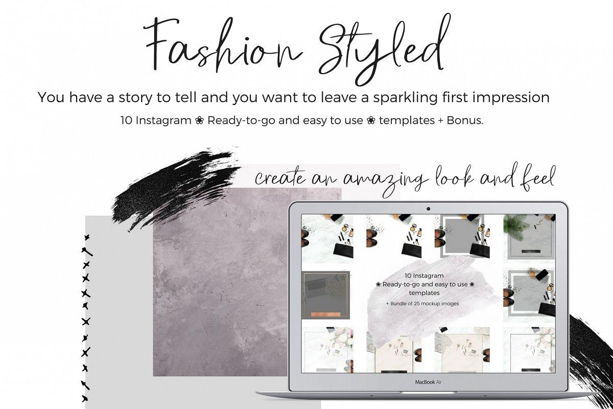 Bundle Styled stock feminine example image