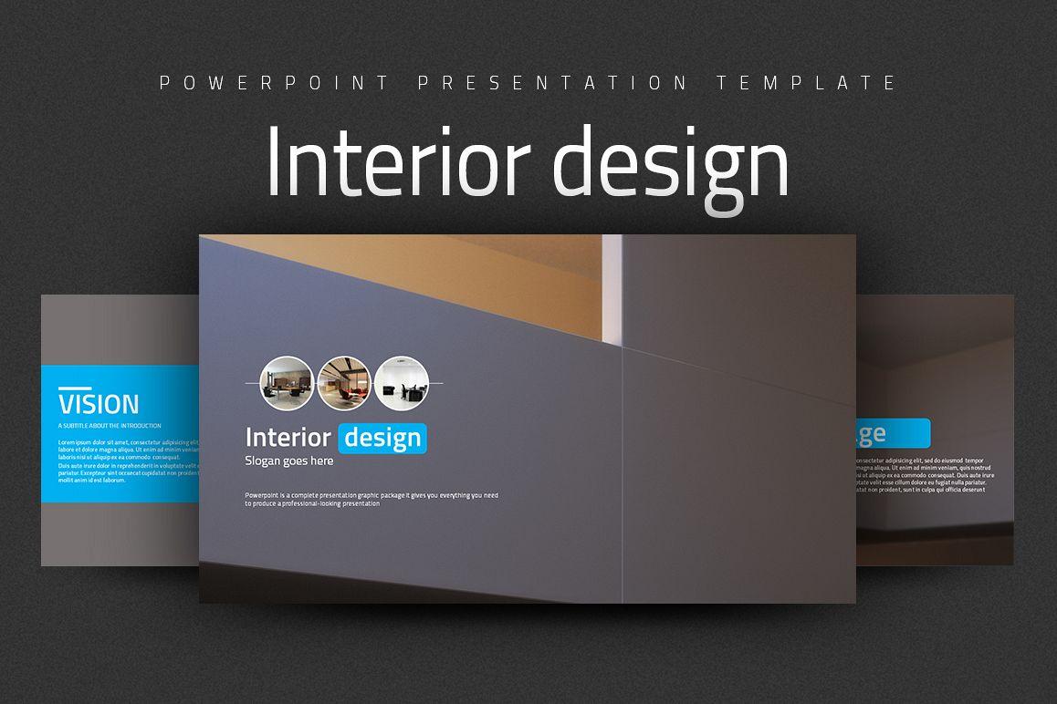 Interior Design Powerpoint Example Image