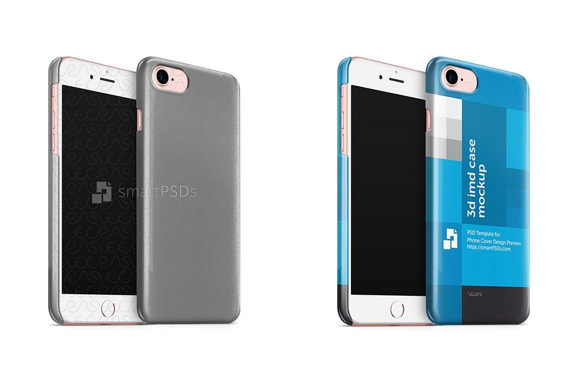 Apple iPhone 7 3d IMD Phone Cover Desig | Design Bundles